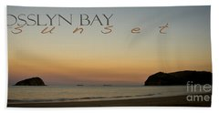Beach Towel featuring the photograph Rosslyn Bay Sunset by Vicki Ferrari