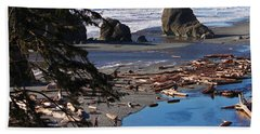 Ruby Beach IIi Beach Towel