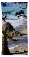 Beach Sheet featuring the photograph Ruby Beach Iv by Jeanette C Landstrom