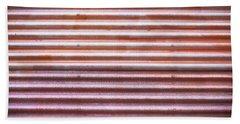 Rusty Metal Beach Towel