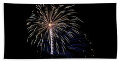 Rvr Fireworks 115 Beach Towel