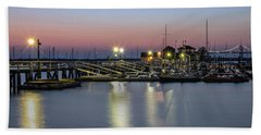 Beach Towel featuring the photograph Safe Harbor by Robin-Lee Vieira