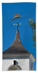 Sailfish Weather Vane At Palm Beach Shores Beach Sheet