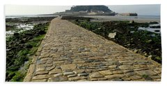 Beach Towel featuring the photograph Saint Michael's Mount by Lainie Wrightson