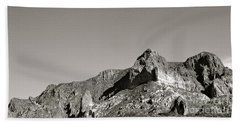 Salt River Black And White Beach Towel