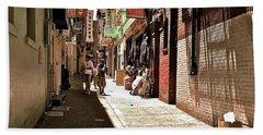 San Fran Chinatown Alley Beach Sheet by Bill Owen