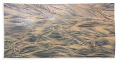 Sand Patterns Beach Sheet by Nareeta Martin