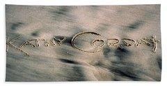 Sandscript Beach Sheet