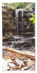Scenic Waterfall Beach Sheet