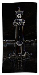 Beach Towel featuring the photograph Scott Memorial Roath Park Cardiff 2 by Steve Purnell