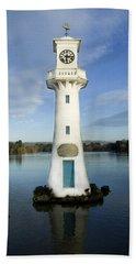 Beach Towel featuring the photograph Scott Memorial Roath Park Cardiff by Steve Purnell