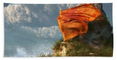 Sea Breeze Butterfly Beach Towel