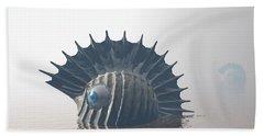 Beach Towel featuring the digital art Sea Monsters by Phil Perkins