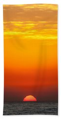 Sea Sunrise Beach Towel