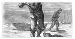 Seal Hunting, 1867 Beach Towel