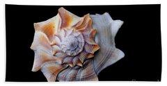 Beach Towel featuring the photograph Seashell 1 by Deniece Platt