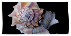 Beach Towel featuring the photograph Seashell 5 by Deniece Platt