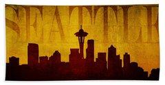Seattle Beach Towel
