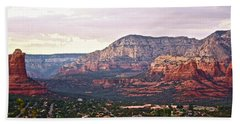 Sedona Evening Beach Towel