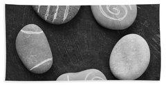 Serenity Stones Beach Towel