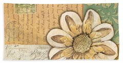 Shabby Chic Floral 2 Beach Towel