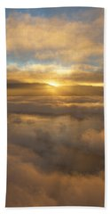 Silver Lake Sunrise Beach Towel by Mark Greenberg