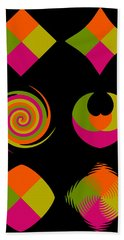 Beach Towel featuring the photograph Six Squared Collage by Steve Purnell