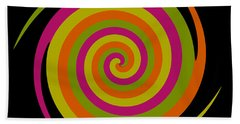 Beach Towel featuring the photograph Six Squared With A Twirl by Steve Purnell