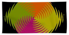 Beach Towel featuring the photograph Six Squared Zigzag by Steve Purnell