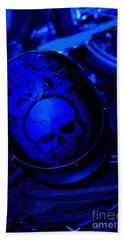 Skull Cap Beach Towel