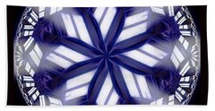 Sky Windows Beach Towel by Danuta Bennett