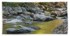 Smoky Mountain Streams II Beach Towel