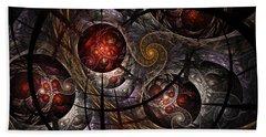 Beach Towel featuring the digital art Soul Of Osiris by NirvanaBlues