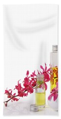 Spa Set With Copy Space Beach Towel by Atiketta Sangasaeng