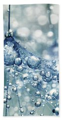 Sparkling Dandy In Blue Beach Towel by Sharon Johnstone