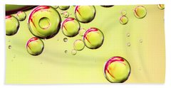 Sparkling Lime Beach Towel by Sharon Johnstone