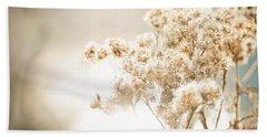 Sparkly Weeds Beach Sheet by Cheryl Baxter