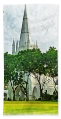 St Andrew's Cathedral Beach Towel
