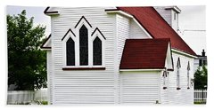 St. Luke's Church And Cemetery In Placentia Beach Towel