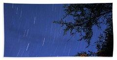 Beach Sheet featuring the photograph Stars Falling by Kay Lovingood