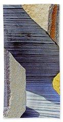 Stone Geometrics Beach Towel