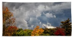 Storms Coming Beach Towel