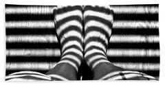 Stripe Socks? Beach Sheet