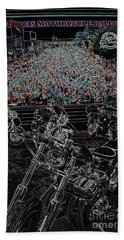 Stugis Motorcycle Rally Beach Towel