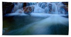 Summer Cascade Beach Towel
