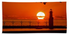 Summer Escape Beach Towel by Bill Pevlor
