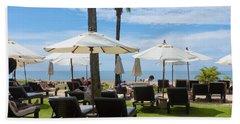 Sunbath Beach Sheet by Atiketta Sangasaeng