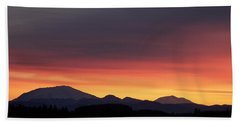 Beach Towel featuring the photograph Sunrise 3 by Chalet Roome-Rigdon