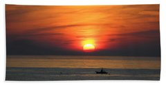 Beach Towel featuring the photograph Sunrise Over Gyeng-po Sea by Kume Bryant