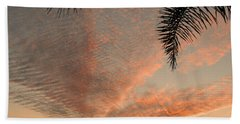 Sunset In Lace Beach Towel